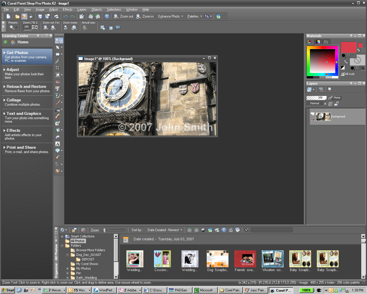Mytopfiles programs paint shop pro photo x2 pspp12 for Paint pros