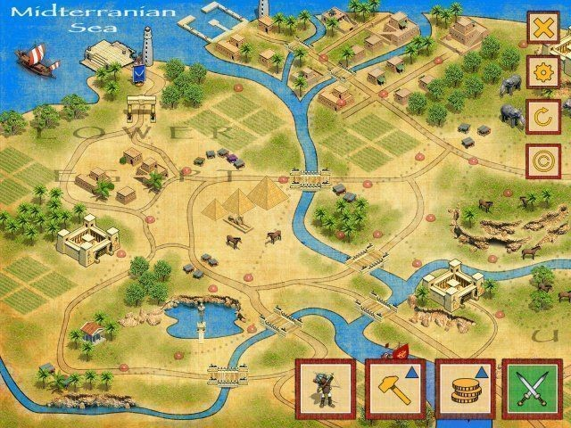 Mytopfiles games defense of egypt cleopatra mission for Mission exe