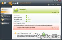 Look at screenshot of avast! Free Antivirus