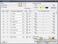 Look at screenshot of Intelliscore Ensemble MP3 to MIDI Converter