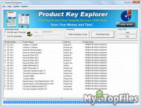 Look at screenshot of Product Key Explorer