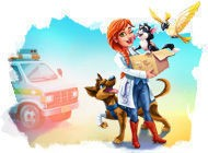 Look at screenshot of Dr. Cares: Pet Rescue 911. Collector's Edition